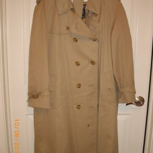 "Burberry Classic Trench Coat 48"" Chest"